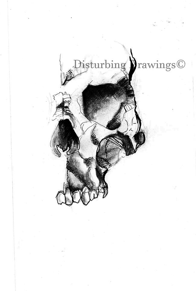 DISTURBING DRAWINGS_SKULL
