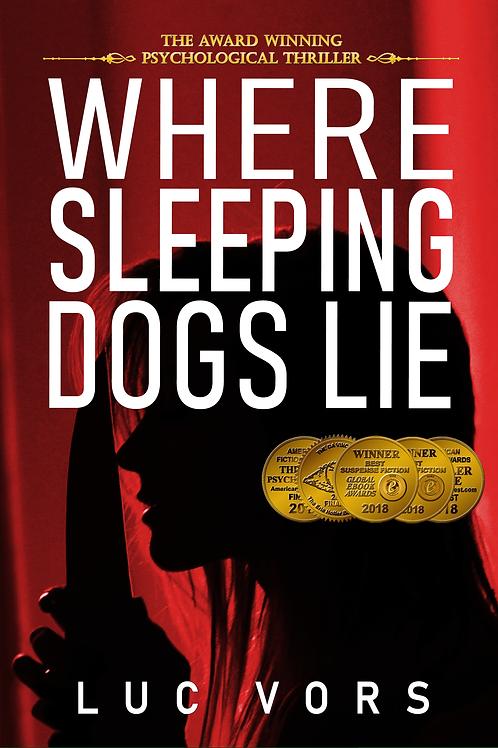 Bulk of 7 Hard Cover Books Where Sleeping Dogs Lie