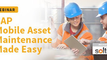 Webinar: SAP Mobile Asset Maintenance made easy with the MyPM solution