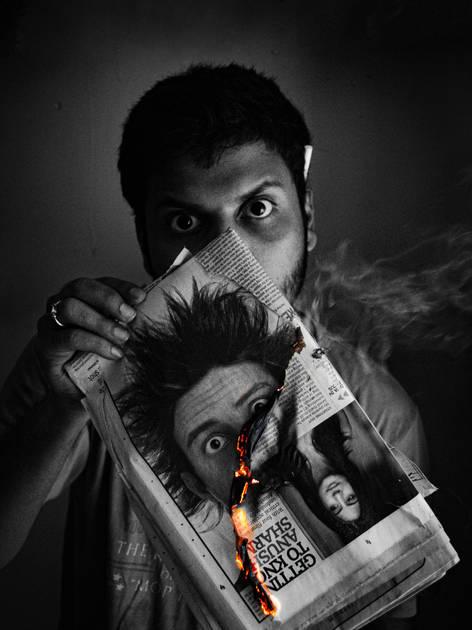 Portrait of Prathamesh Tambe by Ankur Jadhav. 2011.