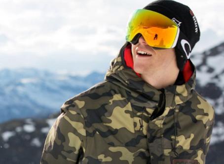 ¡Protege tus ojos en la nieve!