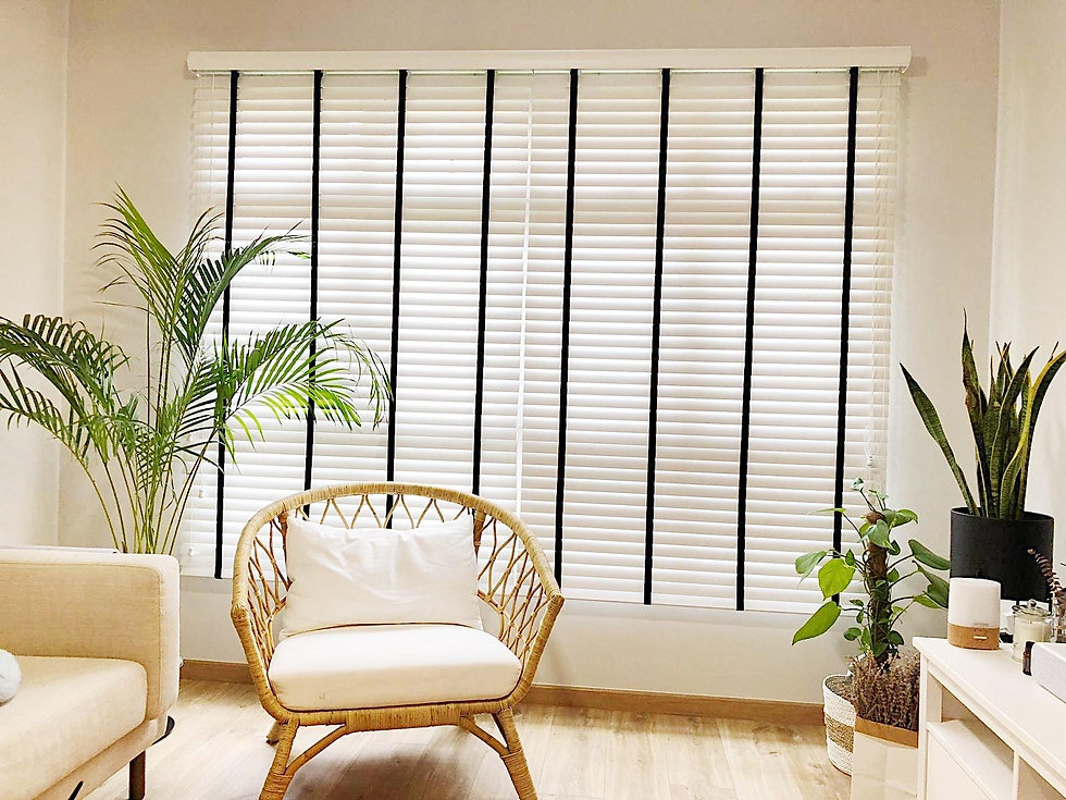 Everyday Curtains Venetian blinds living