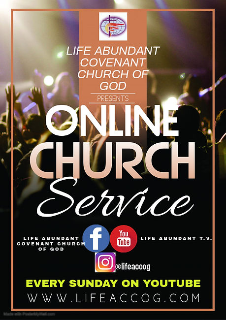 Copy of Online church service -  Made wi