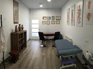 El meu estudi d'acupuntura