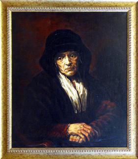 Портрет старушки