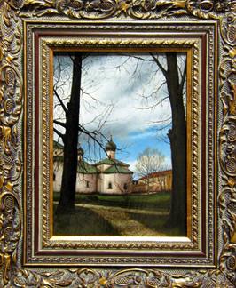 Весна в Вологде. В Кирилло-Белозерском монастыре