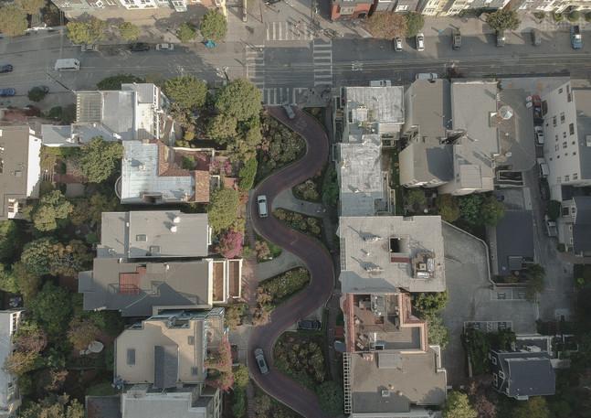Drohnenaufnahme San Francisco