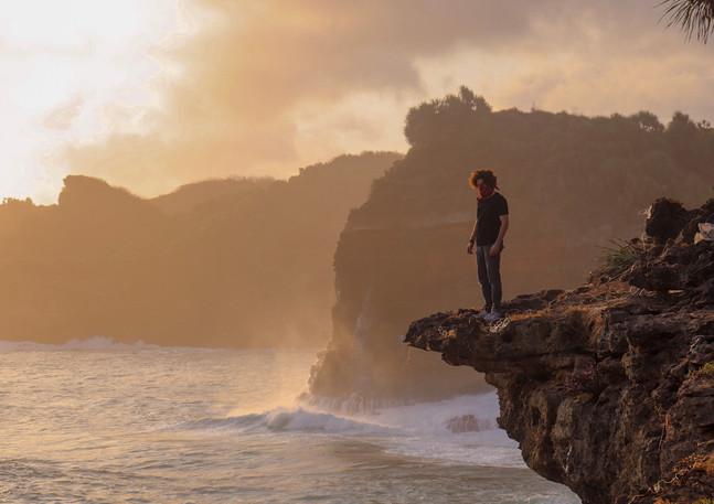 Cinematisches Bild Küste East Java