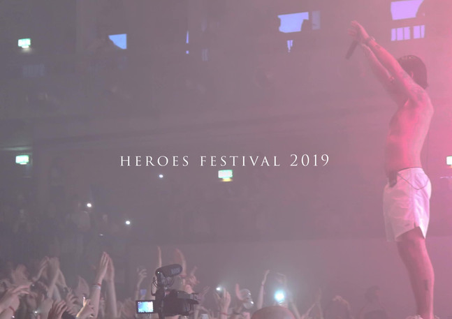 Yung Hurn Video Heroes Festival 2019