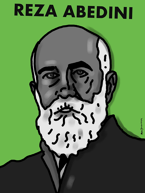 Max Skorwider, Reza Abedini, limited ed. digital print, 2021