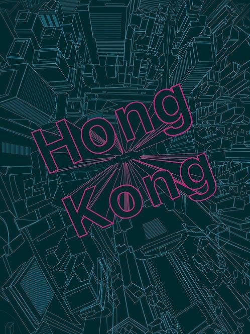 Michal Tatarkiewicz, Tribute to HK,limited ed. digital print, 2018