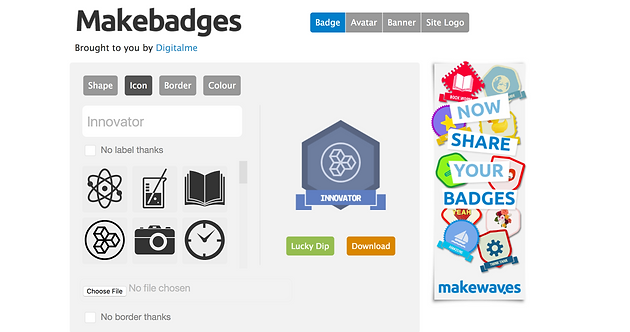 7 Web Tools for Creating Badges for your Classroom
