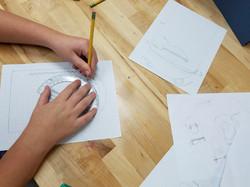 Student designs an innovative idea