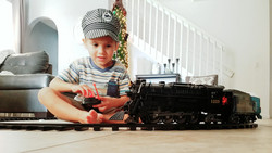 A Love for Tinkering and Trains!