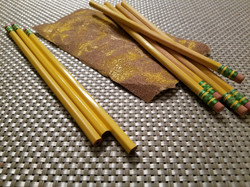 Re-purposing materials to make wands