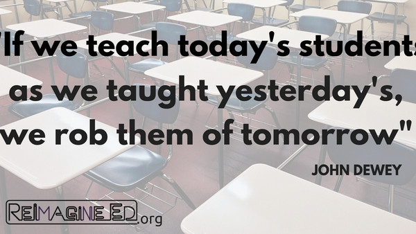 Teach Today as if it were Tomorrow!