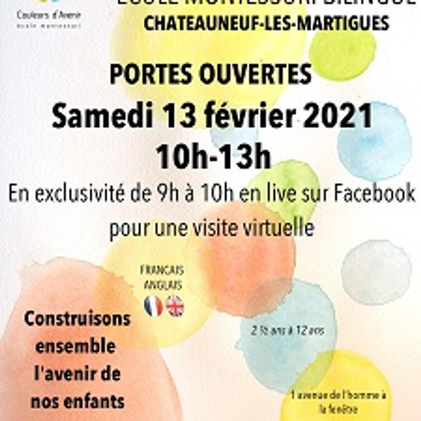 Visite virtuelle en live sur Facebook le samedi 13 février 2021