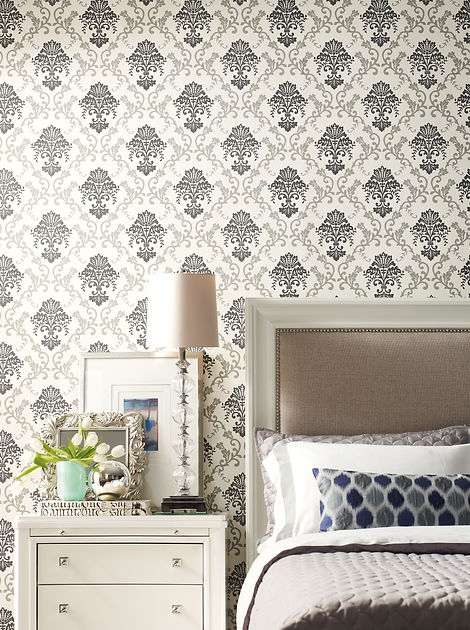 Fabricut Grace Wallpaper