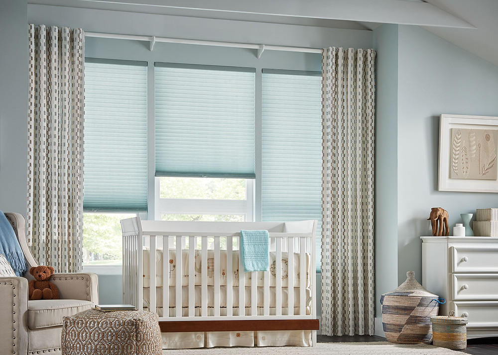 Graber Cellular Shades with Cordless Lift in Nursery
