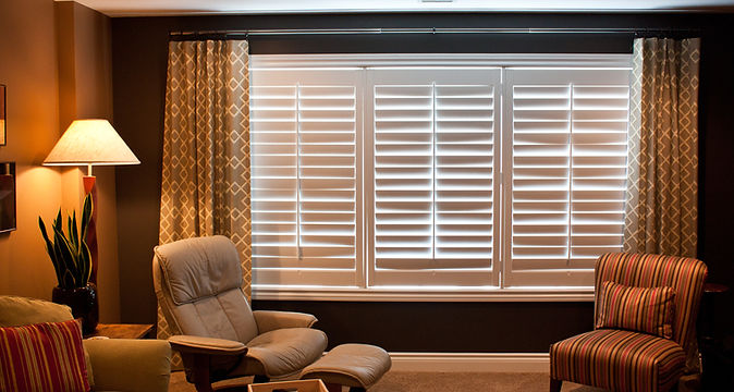 Custom Graber Window Shutters