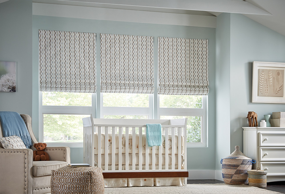 Graber Roman Shades with Cordless Lift