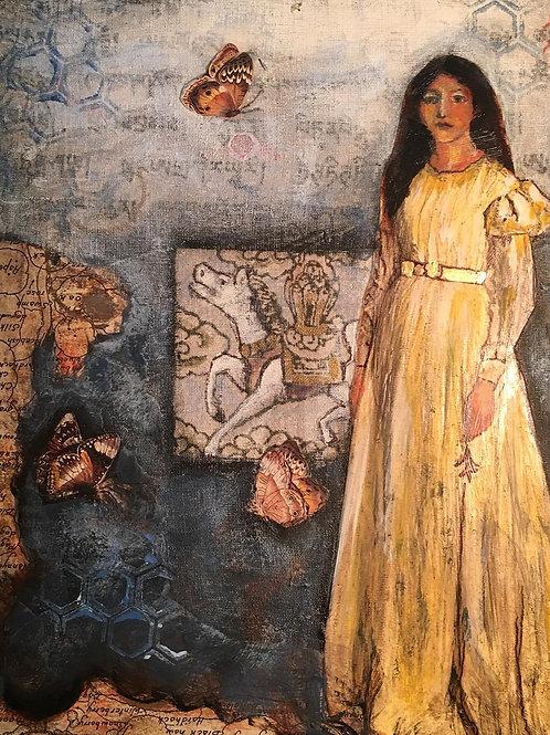 Monarch Diaries: Yellow Dress