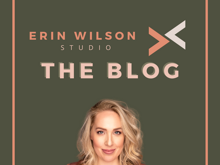 Welcome to the Erin Wilson Studio Blog!