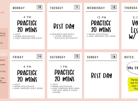 How to use your FREE Practice Calendar