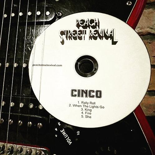 CINCO 5-Song EP CD