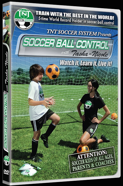 Soccer Training DVD, Ball Control with Tasha-Nicole