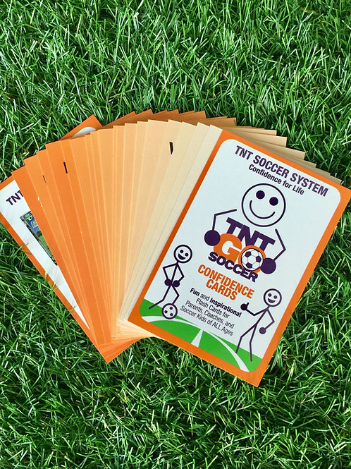 TNT Soccer Confidence Flash Cards