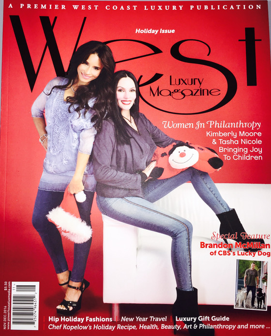 Luxury West Magazine Highlights Women in Philanthropy