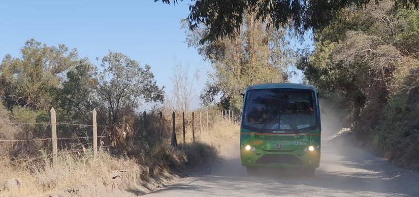 Pruebas taxibus Reborn Electric en Rancagua