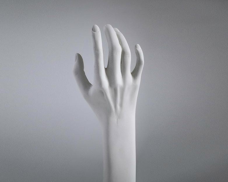 Daphne's Arm, 2021, cultured marble, 35cm
