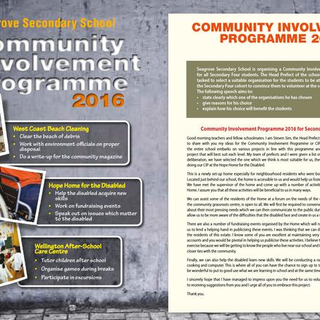 Community Involvement Programme
