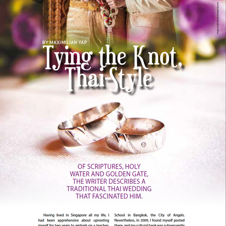 Tying The Knot, Thai Style