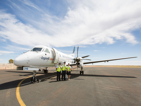 Keeping Connected: Getting to the Gascoyne with Rex Airlines