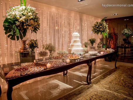 Como funciona o espaço de eventos para casamentos