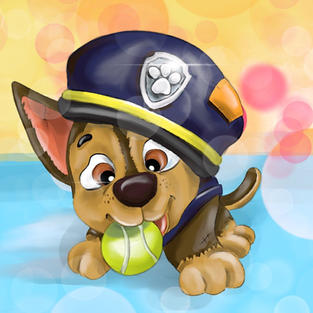 Baby Chase from Paw Patrol