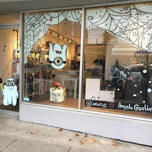 Minons Store Front Mural