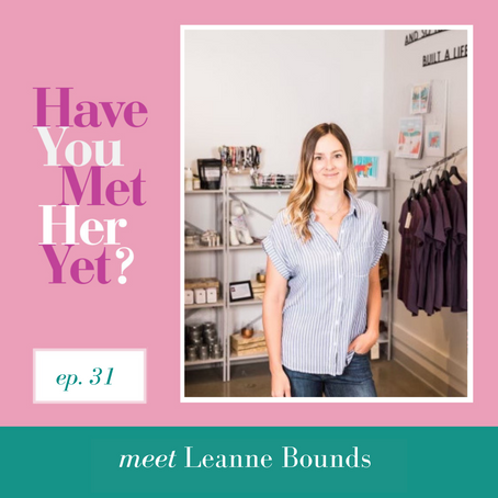 Have You Met Leanne Bounds from Coco Bean Yet?