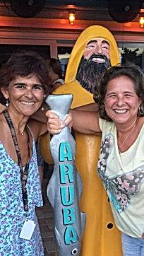 Valéria Haddad and Adriane Cardoso fro MumGaya Ceramics