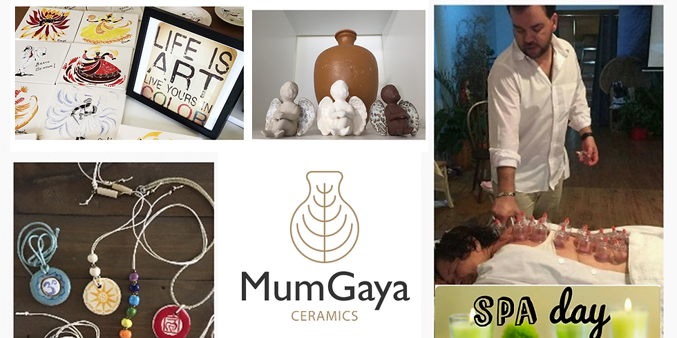 Ceramic Painting Workshop and Bazaar at the Spa Day August Edition