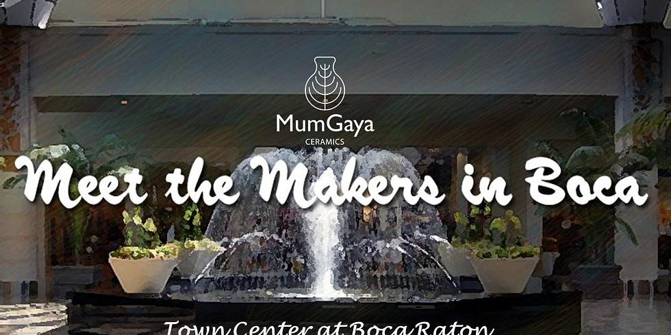 MumGaya Ceramics at the Meet the Makers in Boca