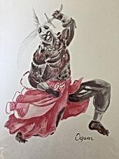 Aquarela Ogum - MumGaya Ceramics - Bazar