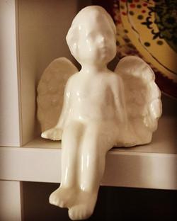 Sitting Angel by MumGaya Ceramics