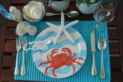 Ocean Dinner Set by MumGaya Ceramics