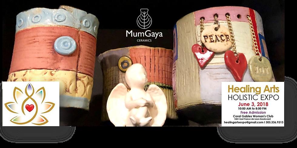 MumGaya at the Healing Arts Holistic Expo
