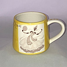 Caneca Oxum - MumGaya Ceramics - Bazar d
