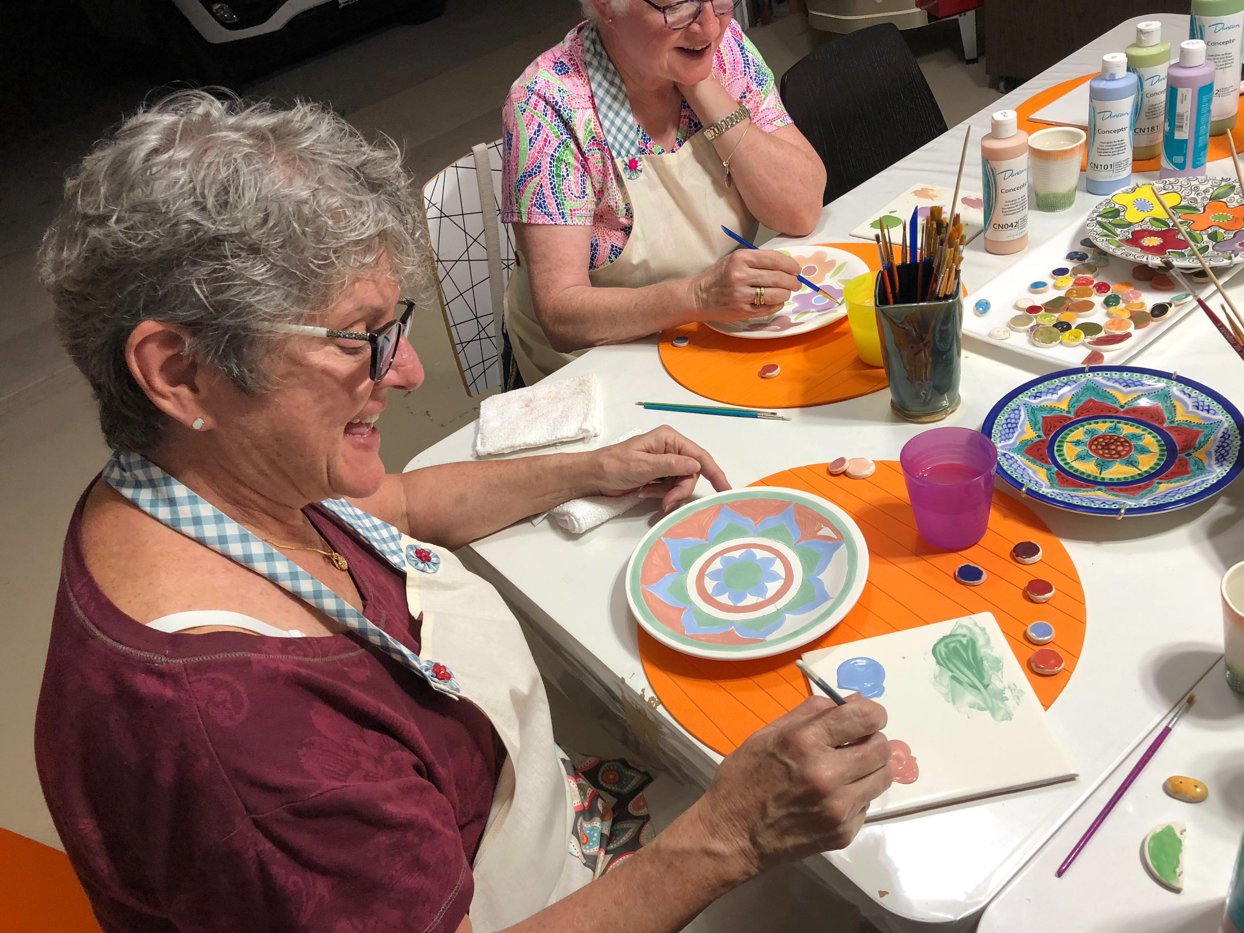 Adult Ceramic Painting